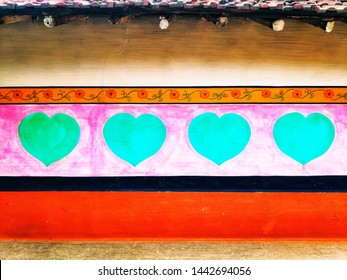 Painting Heart On Wall Images Stock Photos Vectors Shutterstock