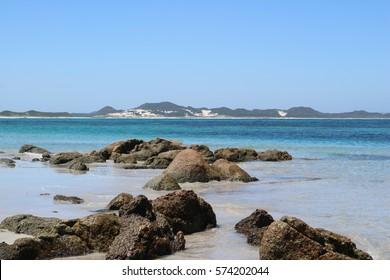 A beautiful hidden beach down South named Peaceful Bay. Western Australia.