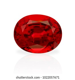 Beautiful and high quality Ruby / loose gemstone with a precision cut by a Thai gem-cutter in Thailand.