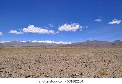 beautiful himalaya mountain view in Tibet