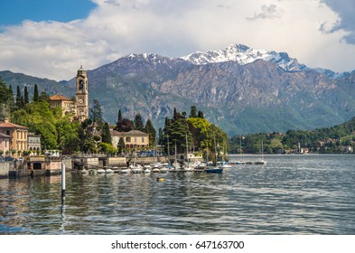The beautiful and historic area of Lake Como provides spectacular views to the Bergamo Alps in Northern Italy