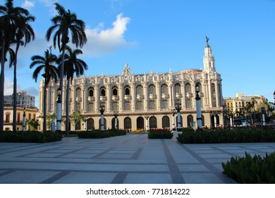 A beautiful historic building in The City Center in Havana