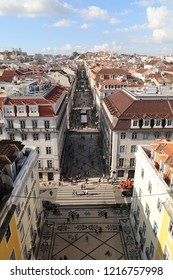 Beautiful  historical  Lisbon City view Portugal, sightseeing view, aflama, ancient architectural