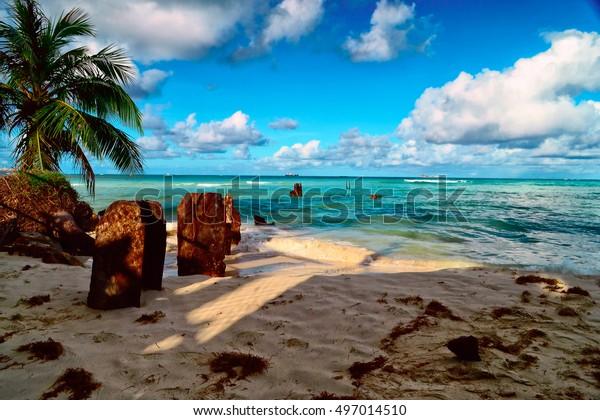 サイパン島の美しい休日。美しいサイパン島