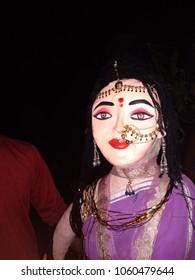 beautiful holika portrait of India