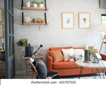 Beautiful home Chic contemporary style.cozy modern living room.