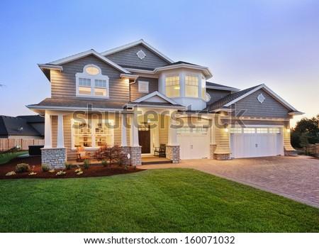 Beautiful Home Exterior Stock Photo Edit Now 160071032 Shutterstock