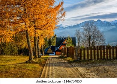 A Beautiful Home in Zakopane mountain