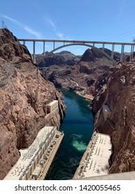 Beautiful Hoover Dam in Arizona