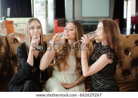 hot girls drinking