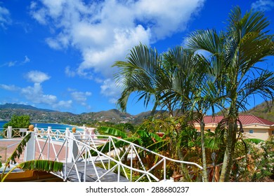 Beautiful hotel resort over grand anse beach, grenada