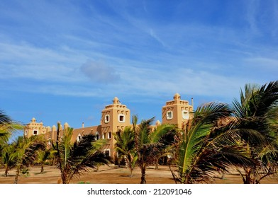 beautiful hotel resort at Sal islape Verde
