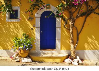 a beautiful house in Assos, Kefalonia, Greece