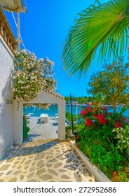 beautiful house by the sea in Spetses island in Greece