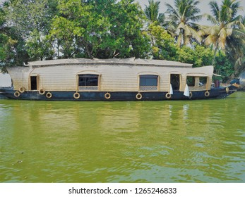 Beautiful houseboat kerala backwaters