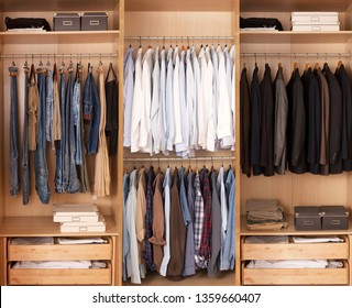 beautiful housewife collecting wardrobe