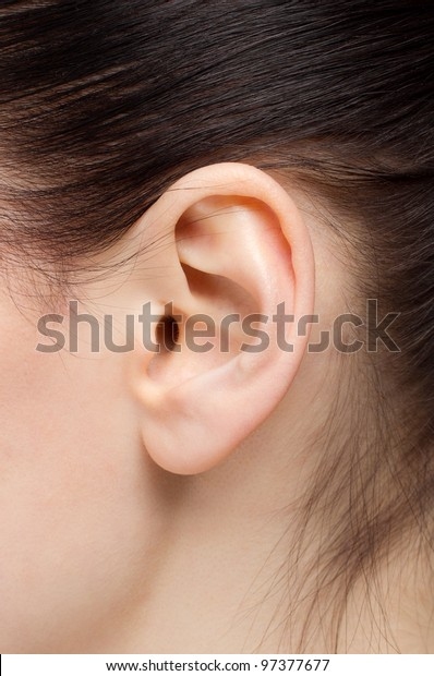 Beautiful human ear