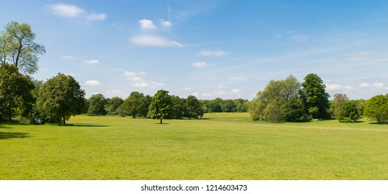 The Beautiful Hylands Park in Chelmsford, Essex, UK