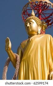 beautiful image of buddha Ratchaburi Thailand