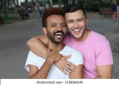 Beautiful image of gay couple
