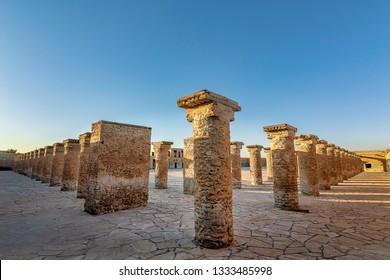 Beautiful images of Historical Old Al-Uqair port in Saudi Arabia.