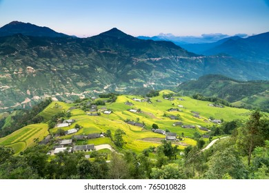 Beautiful images of terraced fields in the northwest mountain of Vietnam