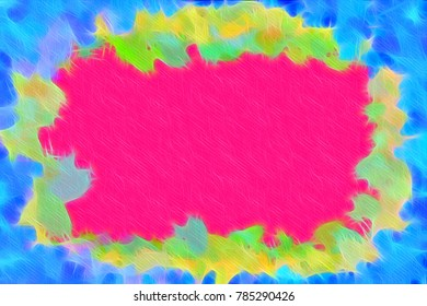 Beautiful imaginative background. Illustration of vibrant abstract texture. Pattern design for banner, poster, flyer, card, postcard, cover, brochure. Colorful abstract background. Vivid and playful.