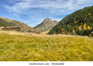 Beautiful Incles valley in Andorra