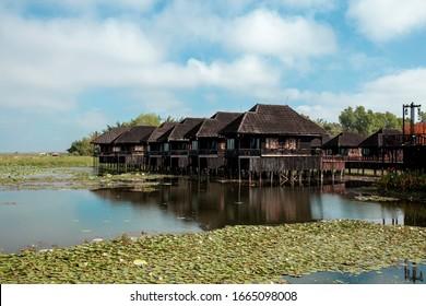 Beautiful Inle Lake at Myanmar