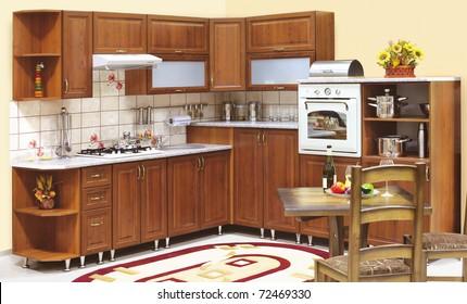 Custom Cabinet Kitchen Images Stock Photos Vectors Shutterstock