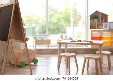 Modern kindergarten stock photos images & photography shutterstock