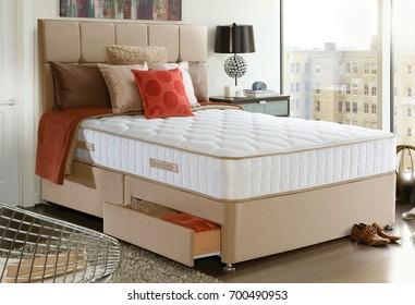 Beautiful interior modern bedroom
