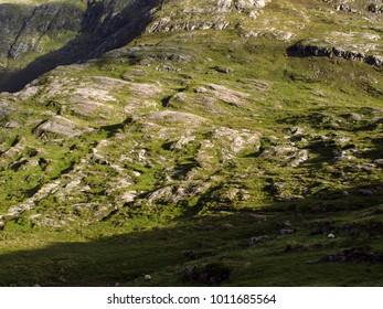 Beautiful irish landscape