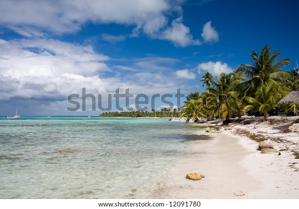 Beautiful island beach.