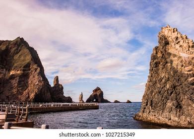 Beautiful island Dokdo is the east end territory of Republic of Korea.