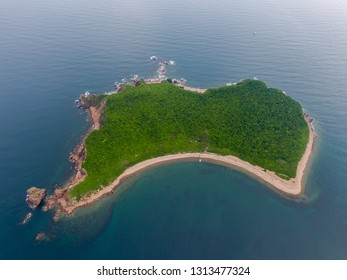 Beautiful island in the East Sea
