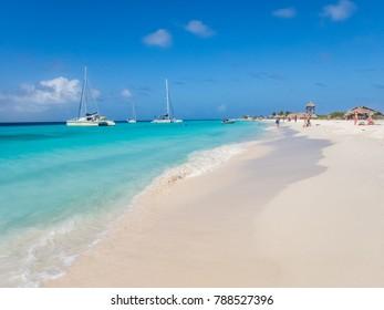 The beautiful island of Klein Curacao deserted island    Caribbean