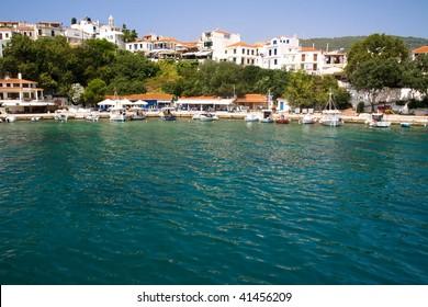 Beautiful island of Skiathos in Greece