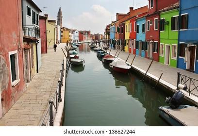 Beautiful Italian town