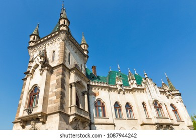 Beautiful Jakab palace in Kosice old town, Slovakia.