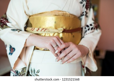 Beautiful japan womean in kimono Traditional Japanese