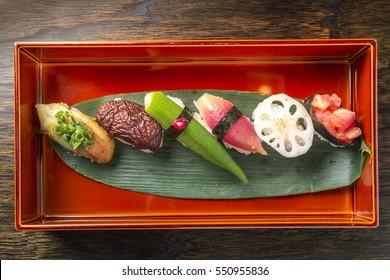 Beautiful Japanese cuisine