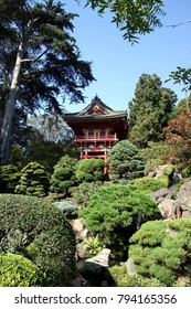 Beautiful Japanese Garden in San Francisco -- USA