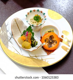 Beautiful Japanese Kaiseki dining in Takayama Japan decoration fresh colourful cuisine delicious healthy