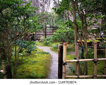 Beautiful Japanese park