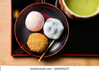 Beautiful Japanese sweets in Japan
