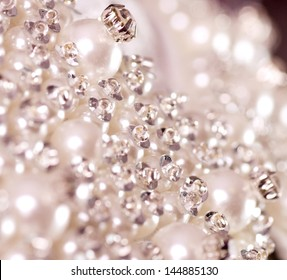 Beautiful jewelry background