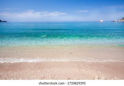Beautiful Kabak beach, Oludeniz, Turkey