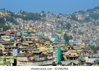 Beautiful Kalimpong City. Dec 13 2014