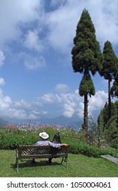 Beautiful Kalimpong in India